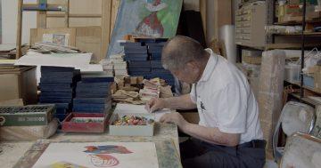 福村惣太夫展 −掘るように描く− ギャラリートーク・2 ※ 終了しました 画像