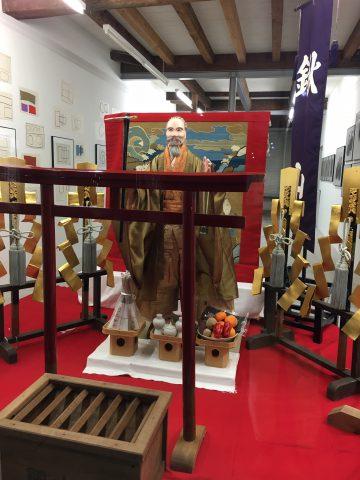 亀岡祭ご神体飾りと臨時休館のお知らせ 画像